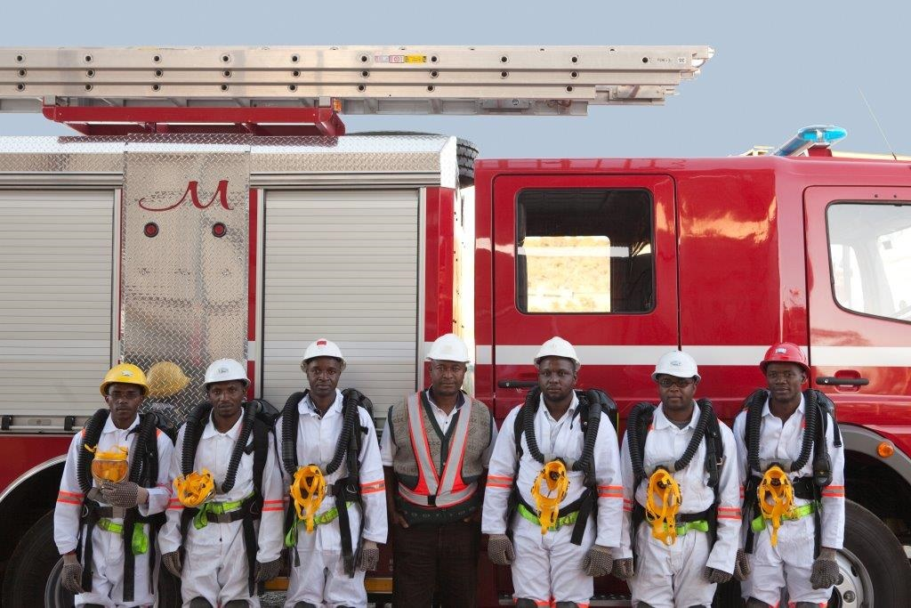 FIRE FIGHTING TEAM
