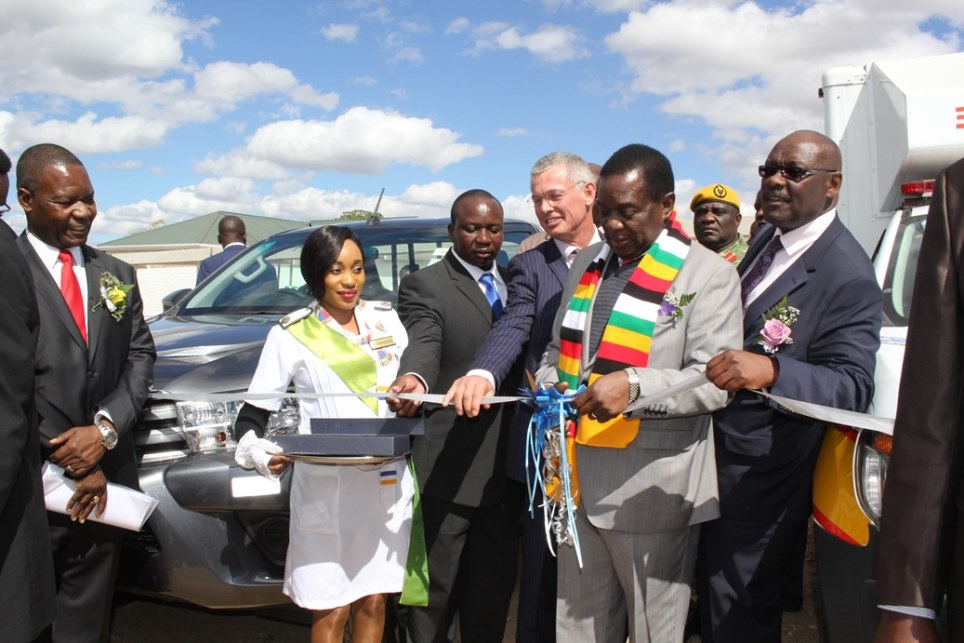 kadoma general hospital official opening