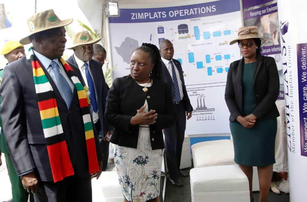 President of ZImbabwe President Munagagwa